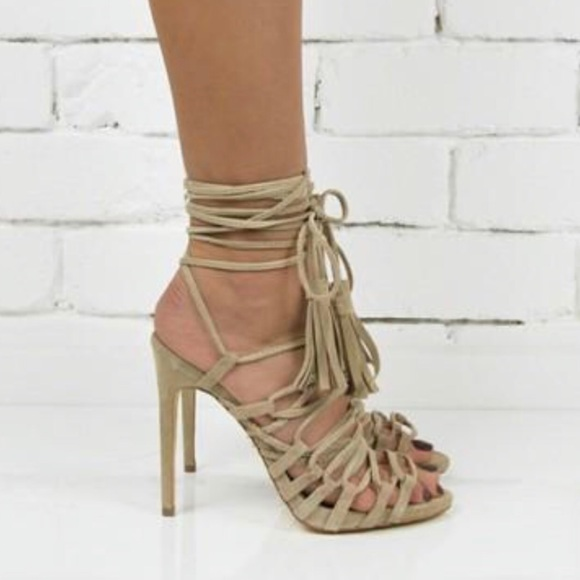 0768102563 windsor smith Shoes | Crazie Sand Suede Size 8 | Poshmark